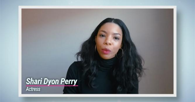 Actress and Teaching Artist, Shari Dyon Perry