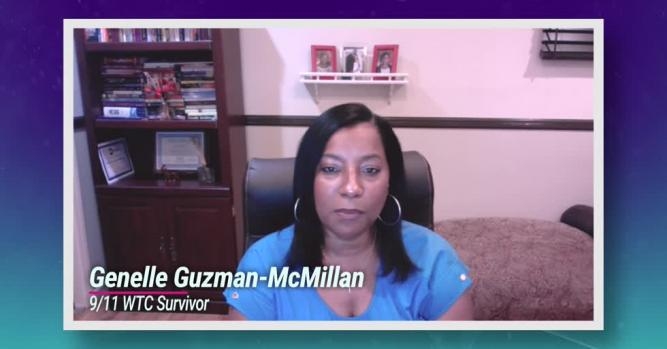 The last person to be pulled out of the wreckage, 9/11 survivor Genelle Guzman-McMillan reflects on the tragedy 20 years later.