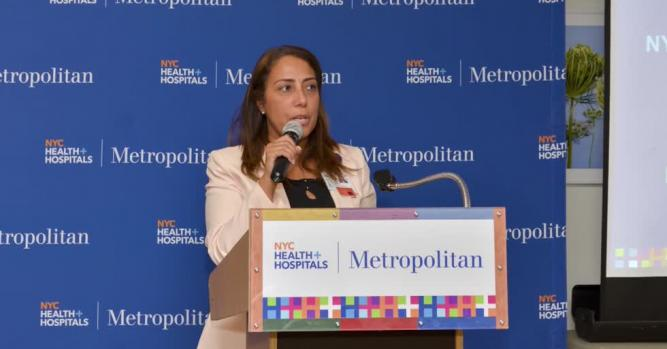 Alina Moran, President, Dignity Health-California Hospital Medical Center, Los Angeles