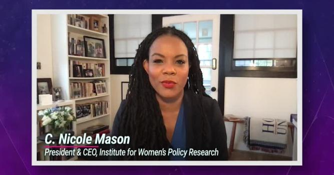 Nicole Mason, President and CEO of the Institute for Women's Policy Research