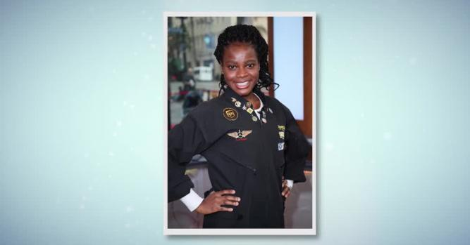 Kimberly Anyadike, Youngest Black Woman to Complete Flight Across the U.S.