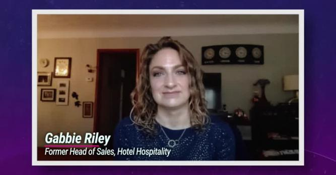 Gabbie Riley, National sales hospitality sports and entertainment