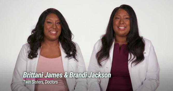 Dr. Brandi Jackson & Dr. Brittani James, co-founders of Medlikeme.com