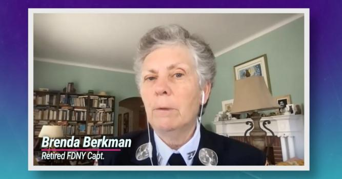 Retired FDNY Captain Brenda Berkman reflects on the tragedy that shocked the world 20 years later.