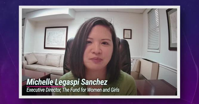 Michelle Sanchez, Executive Director of The Fund for Women and Girls