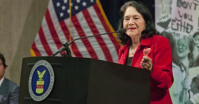 Dolores Huerta, President of the Dolores Huerta Foundation