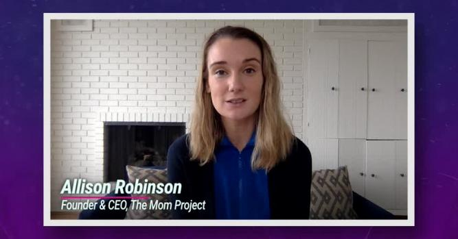 Allison Robinson, CEO and Co-Founder of The Mom Project